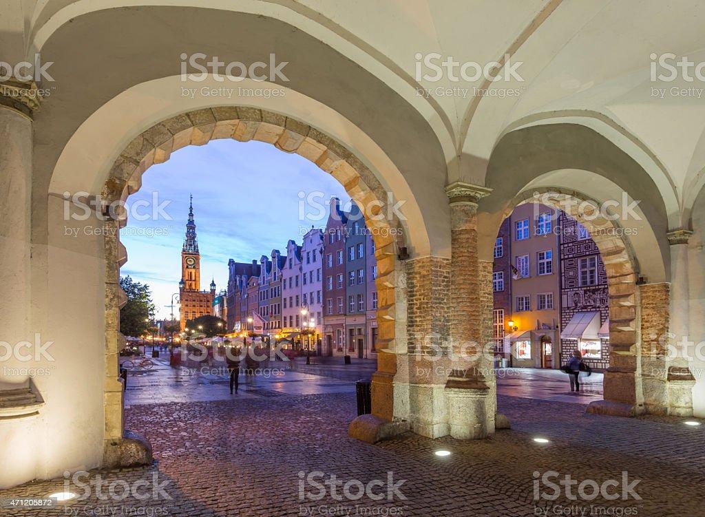 Krakow in Poland stock photo