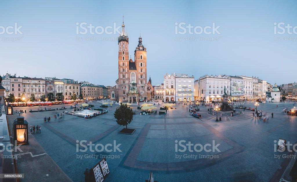 Krakow stock photo