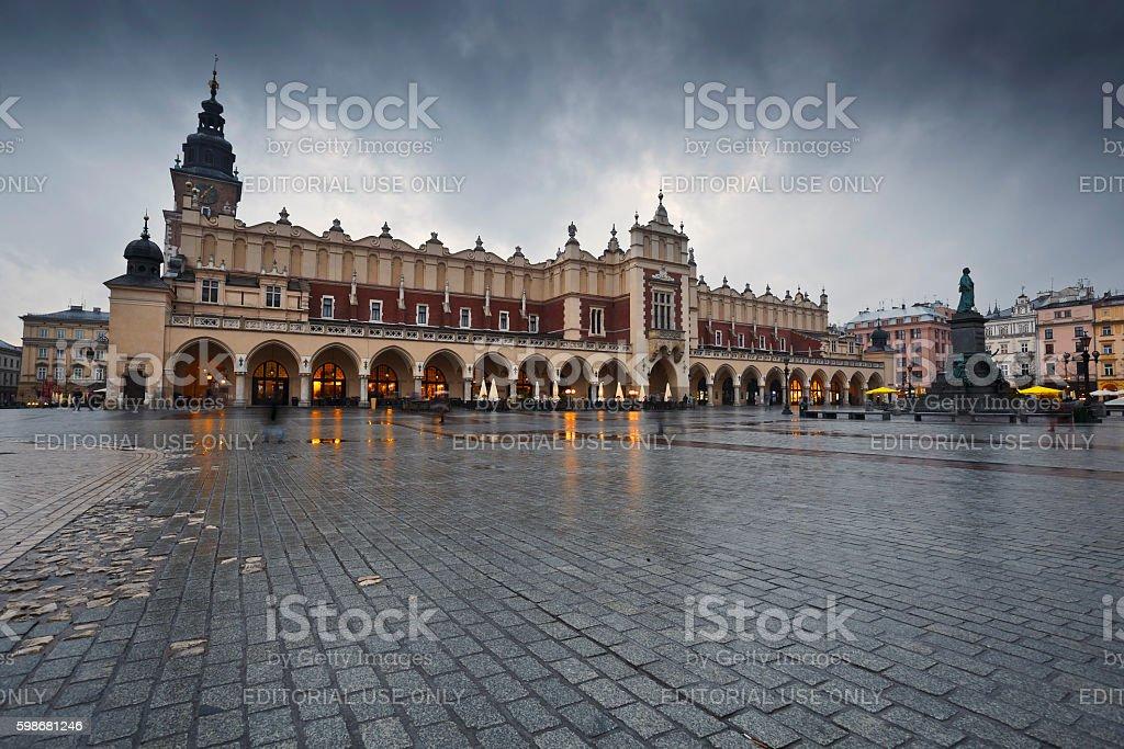 Krakow. stock photo