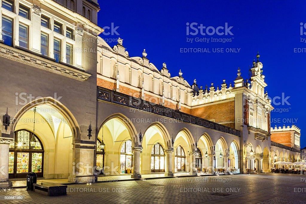 Krakow, Poland - Cloth-Hall stock photo