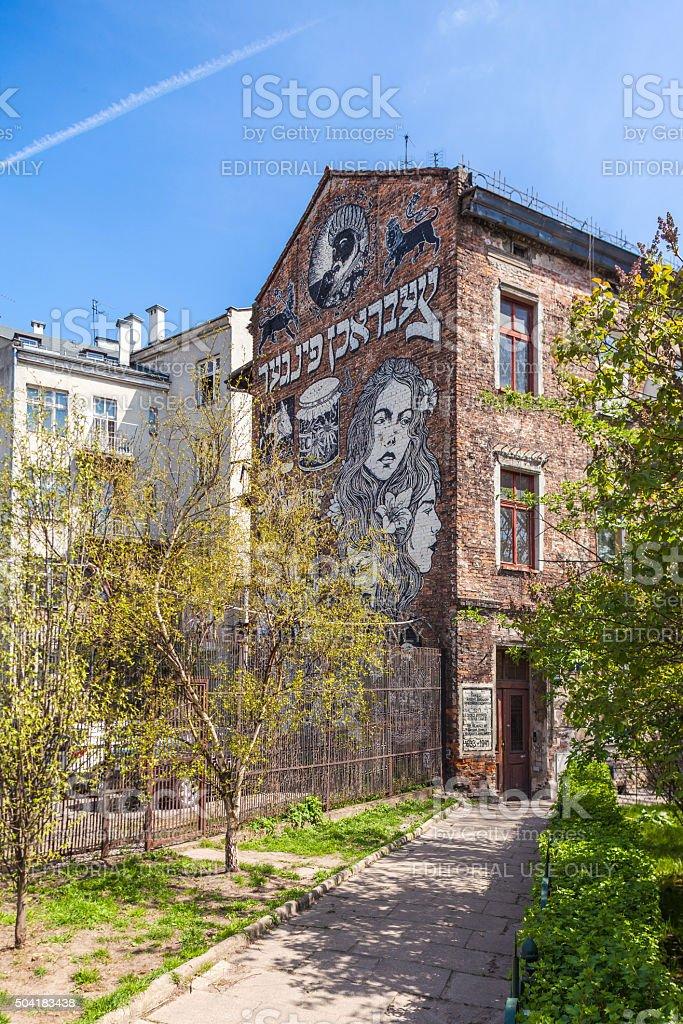 Krakow, Poland - Old Jewish district Kazimierz stock photo