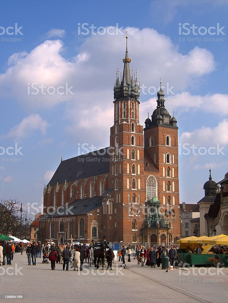 Krakow, Poland stock photo