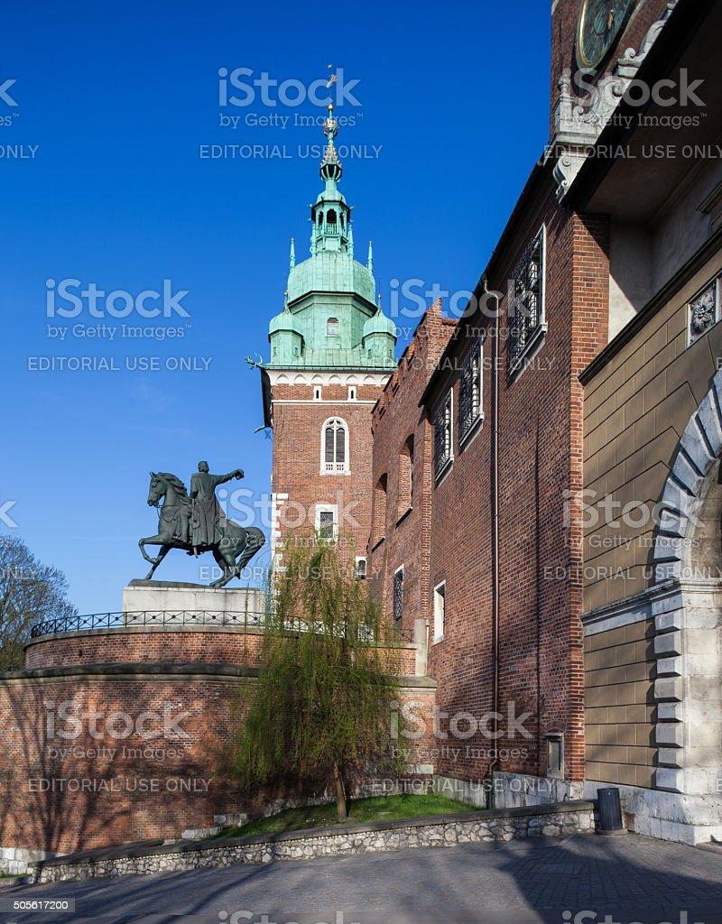 Krakow, Poland - Wawel Castle stock photo
