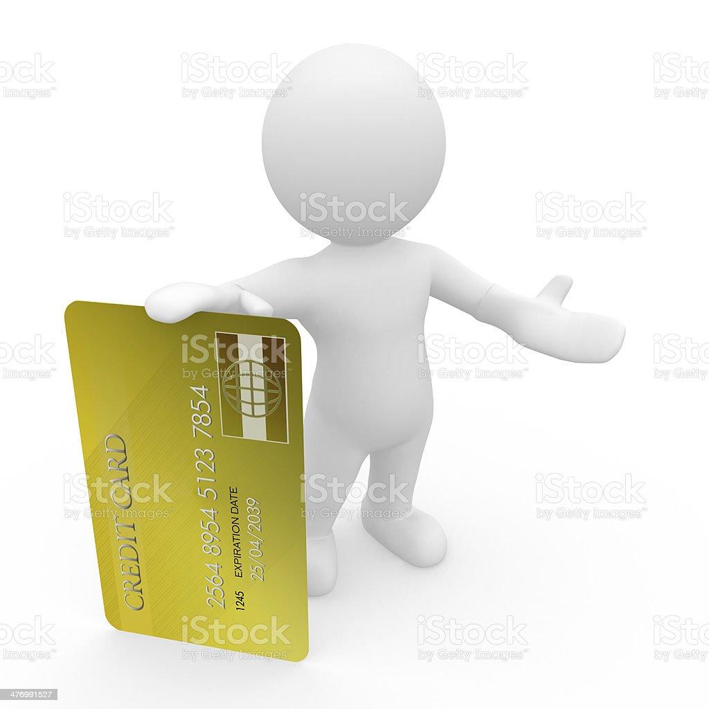 Kreditkarte stock photo