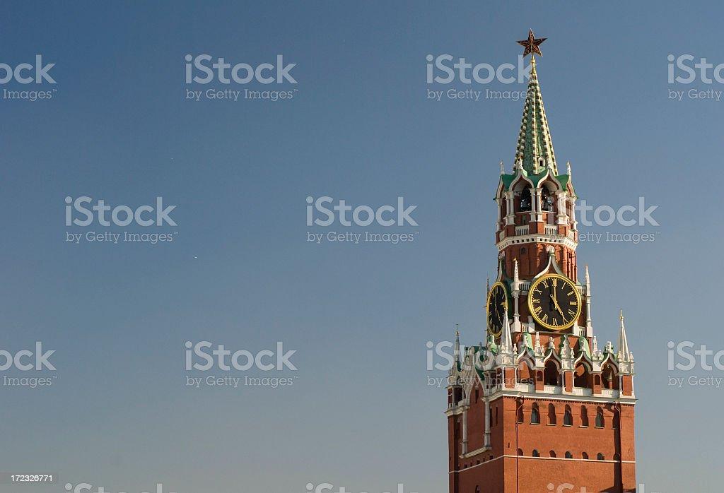 Kremlin Clocktower royalty-free stock photo