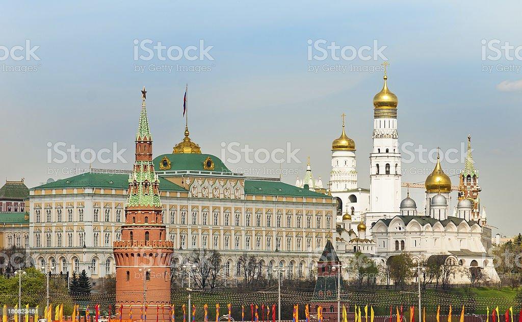 Kremlin Close Up royalty-free stock photo