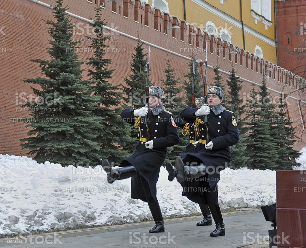 Kremlin Guards stock photo