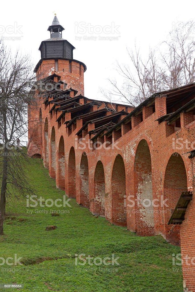 Kremlin (fortress) in Nizhny Novgorod, Russia stock photo