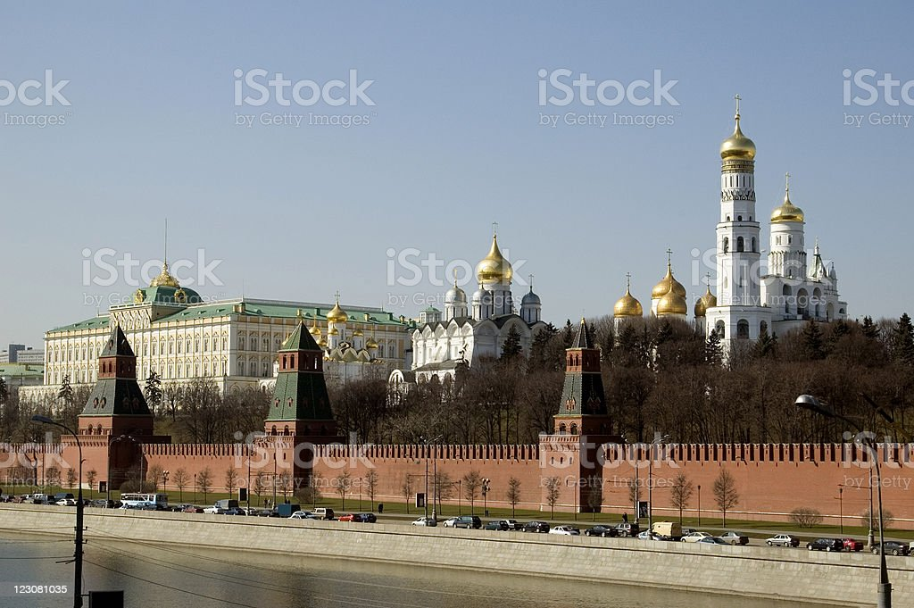 Kremlin Moscow Russia royalty-free stock photo