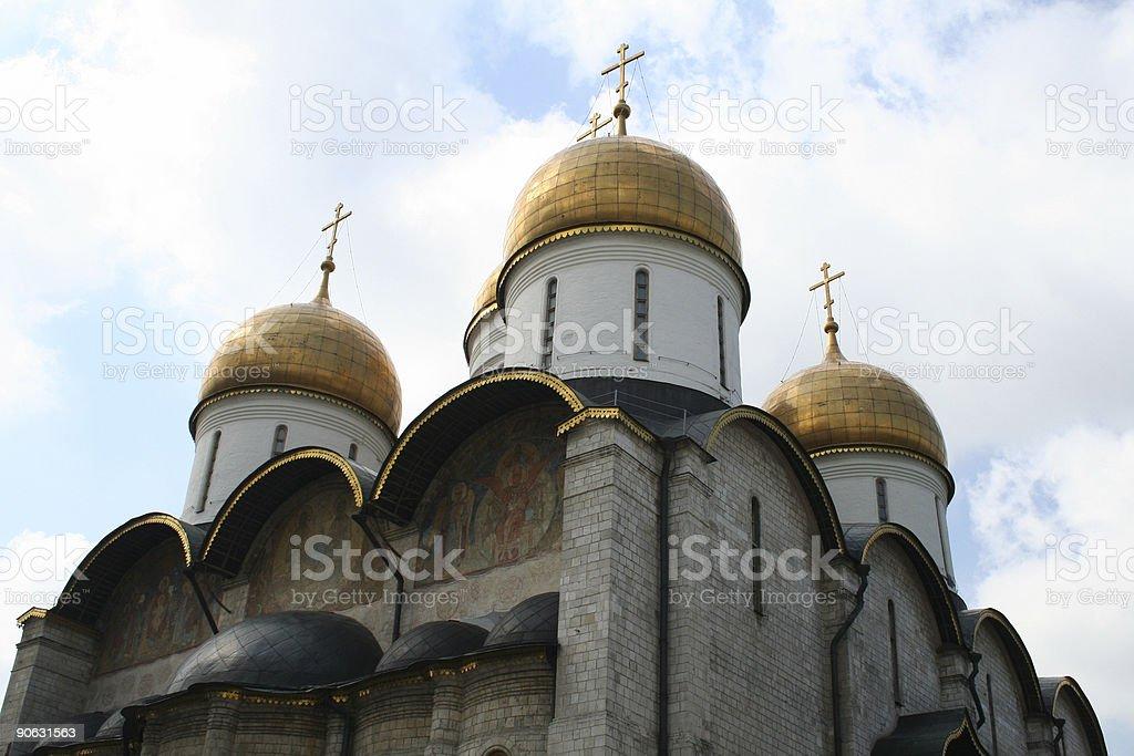 Kremlin Orthodox Church/Cathedral stock photo