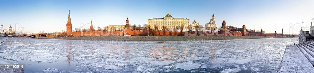 Kremlin panorama royalty-free stock photo