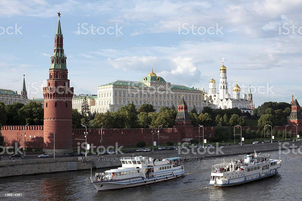 Kremlin royalty-free stock photo