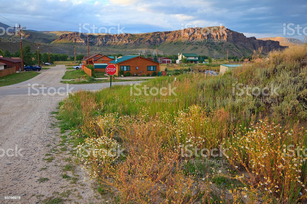 Kremmling City in Colorado royalty-free stock photo