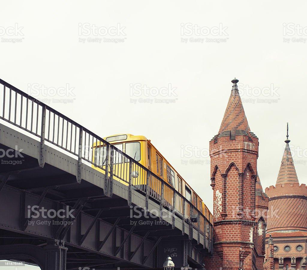 'Kreuzberg U-bahn, Berlin' stock photo