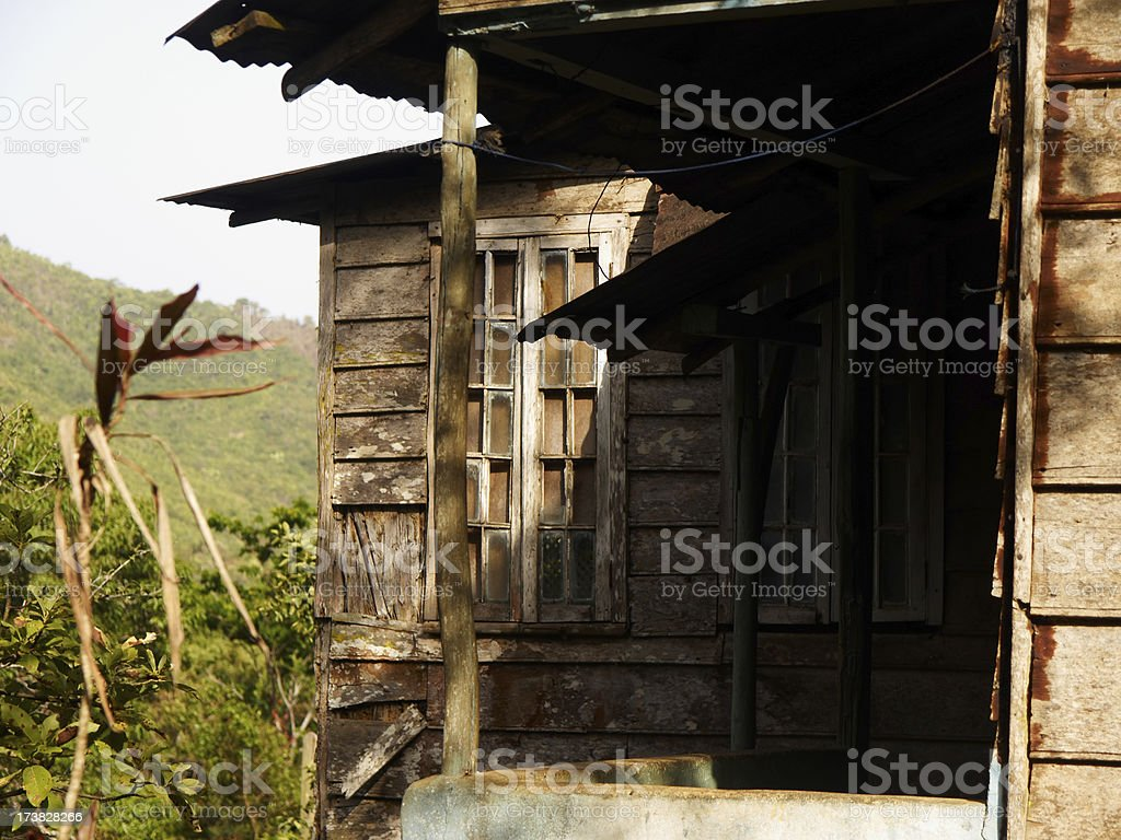 Krio House - Sierra Leone stock photo