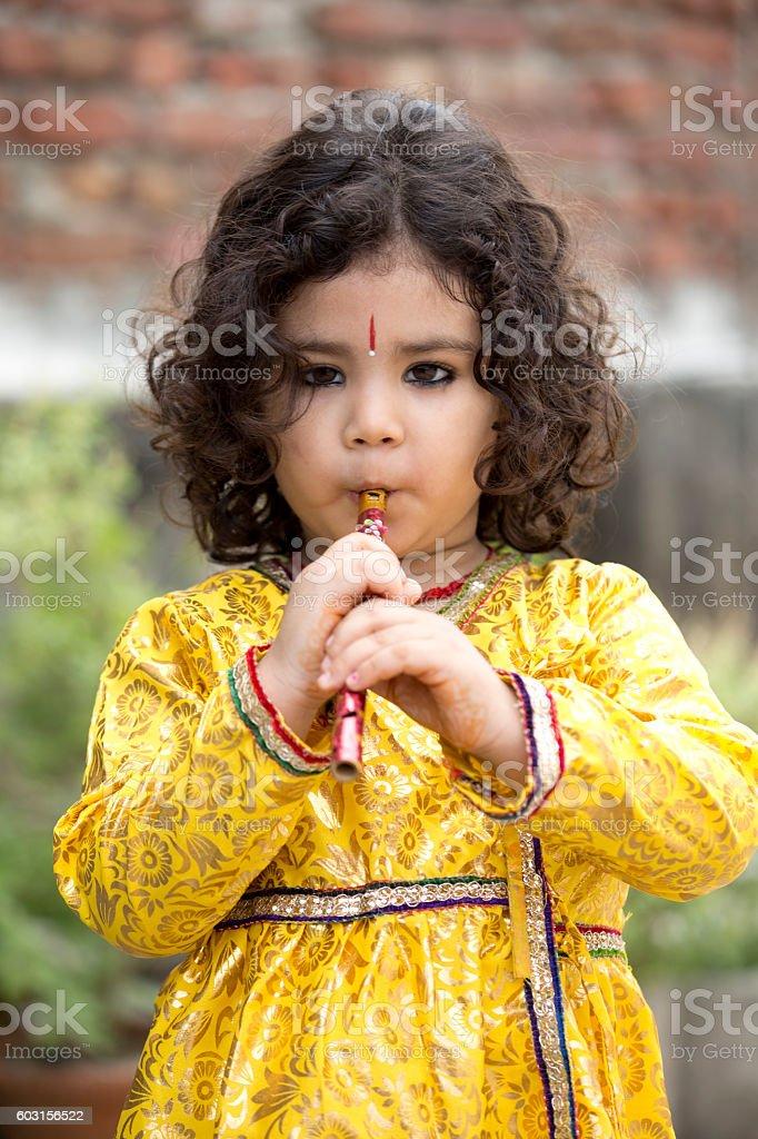 Krishna Janmashtami stock photo