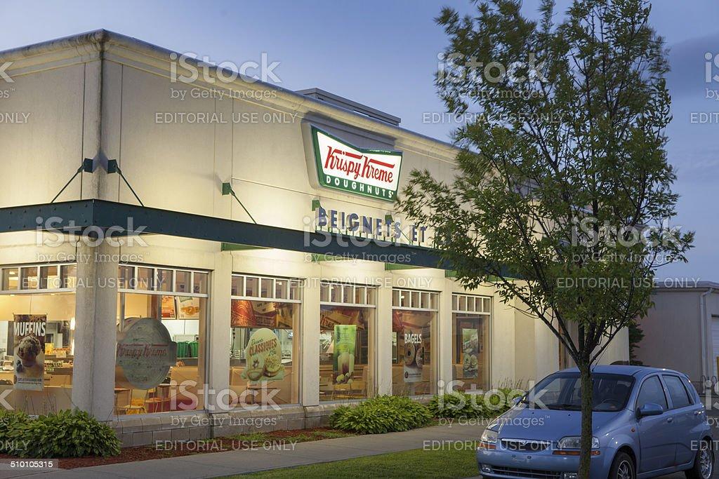 Krispy Kreme Doughnuts Store stock photo