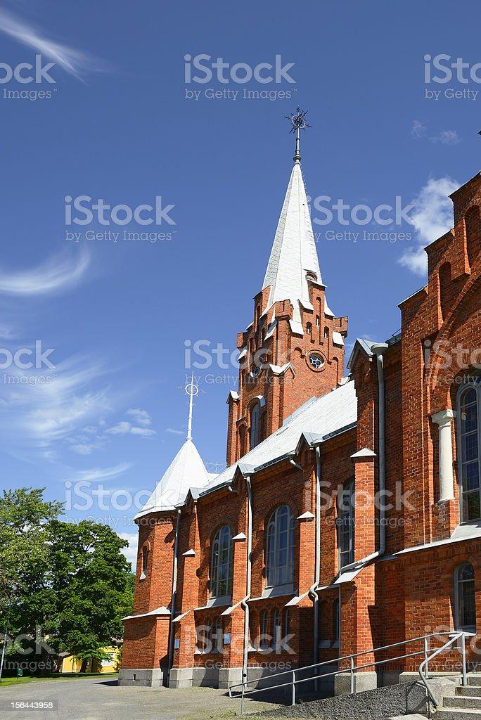 Kristinestad church royalty-free stock photo