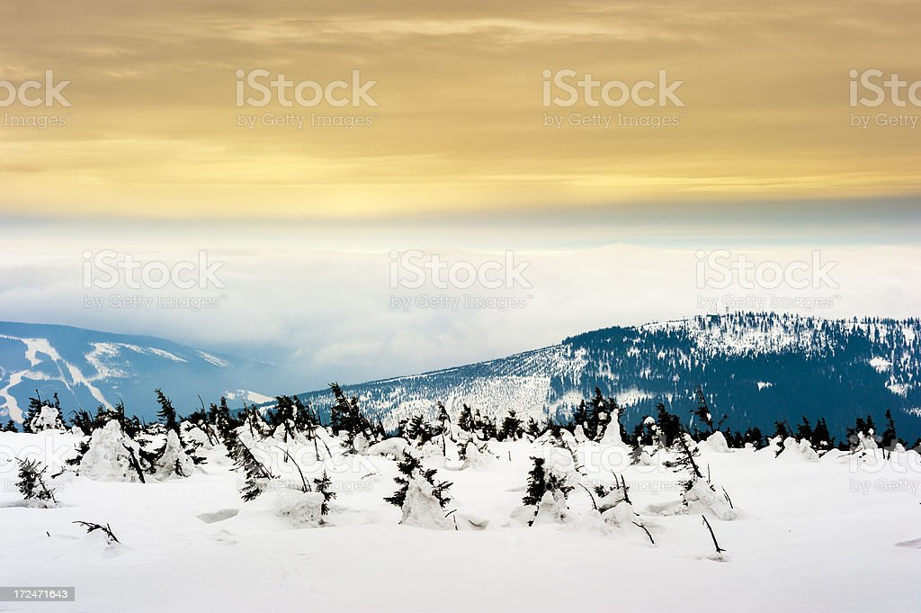 Krkonose, Riesengebirge stock photo