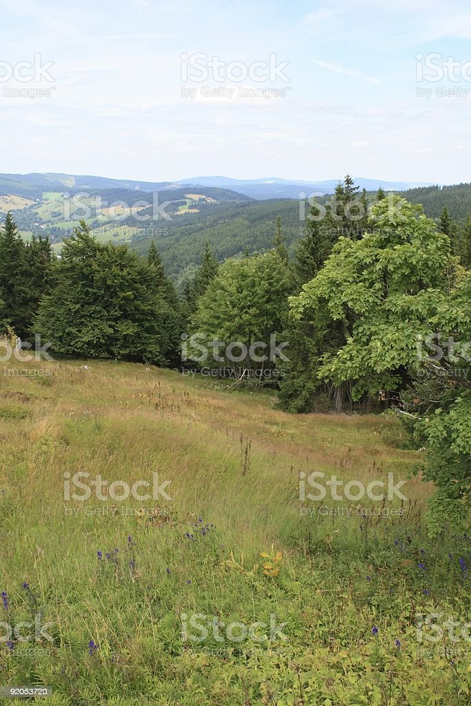 Krkonose Mountains, Czech Republic royalty-free stock photo