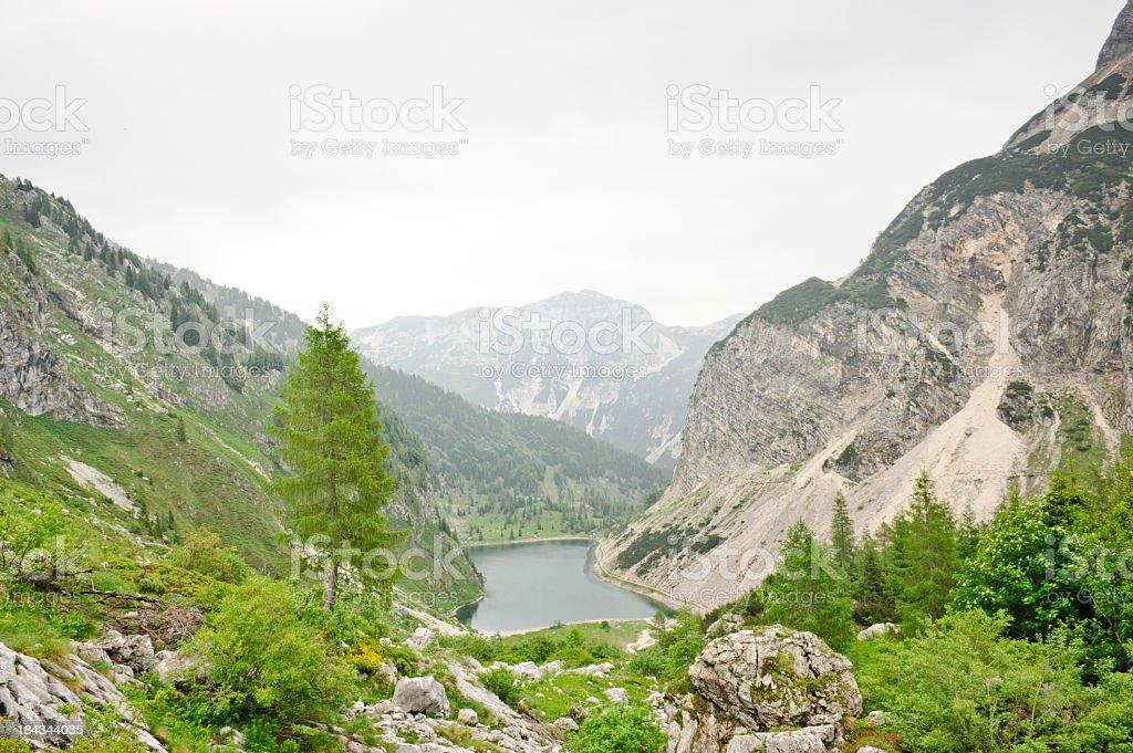 Krn lake stock photo
