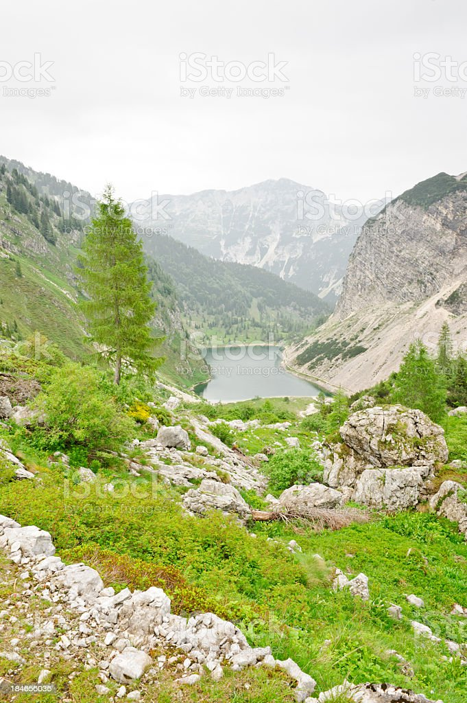 Krn lake, Slovenia stock photo