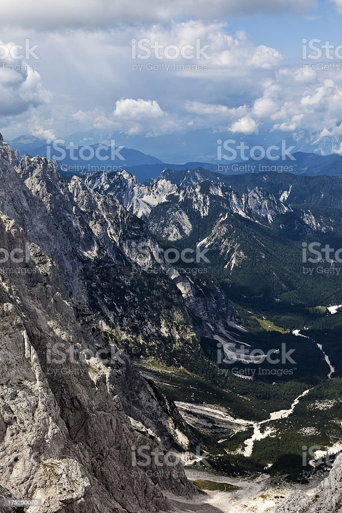 Krnica valley royalty-free stock photo