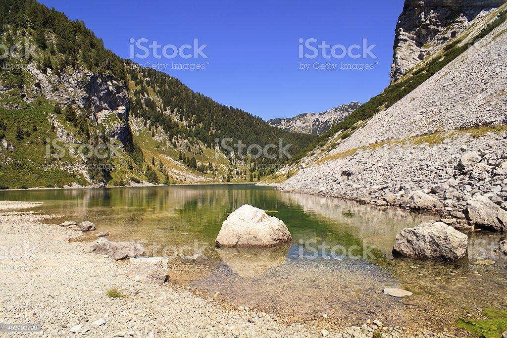 krnsko lake stock photo