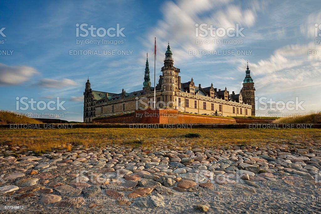 Kronborg Castle stock photo