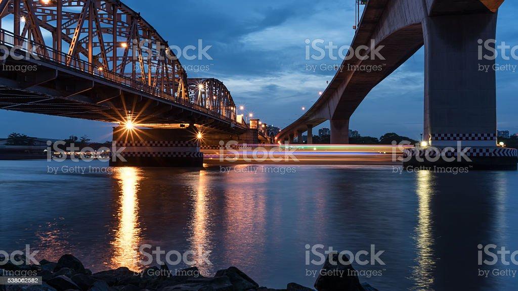 Krung Thep Bridge stock photo