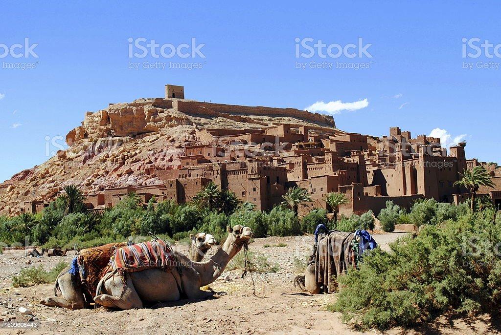 Ksar Ait Ben Haddou, ourzazate Morocco stock photo