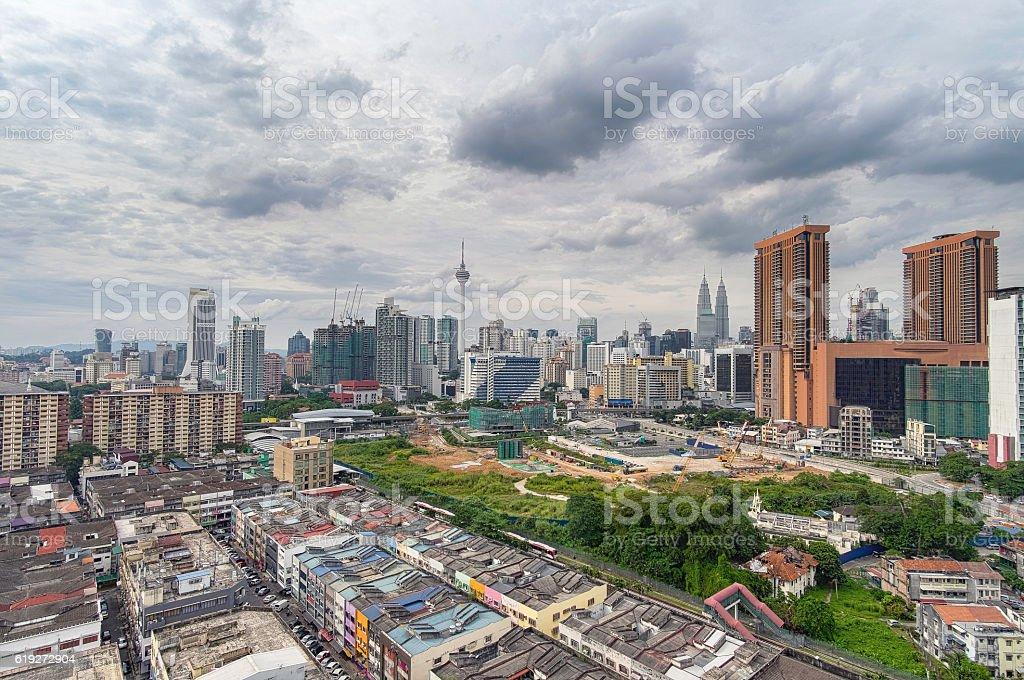 Kuala Lumpur City Landscape stock photo