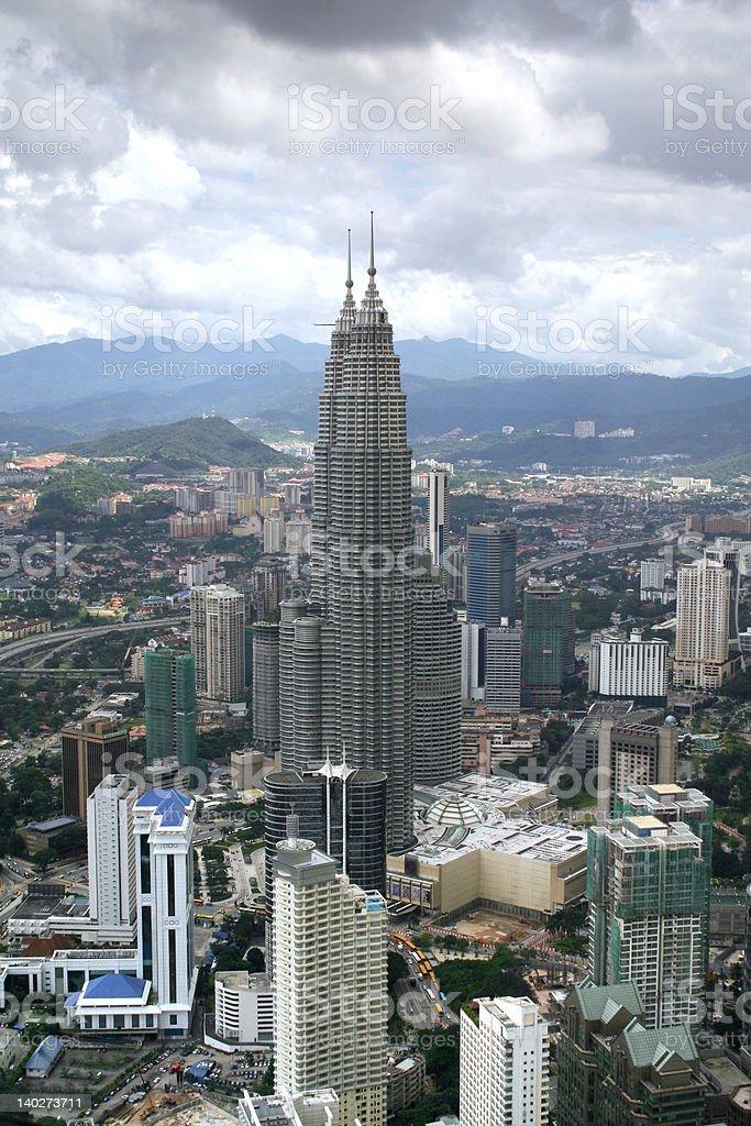 Kuala Lumpur Cityscape royalty-free stock photo