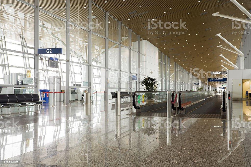 Kuala Lumpur International Airport royalty-free stock photo