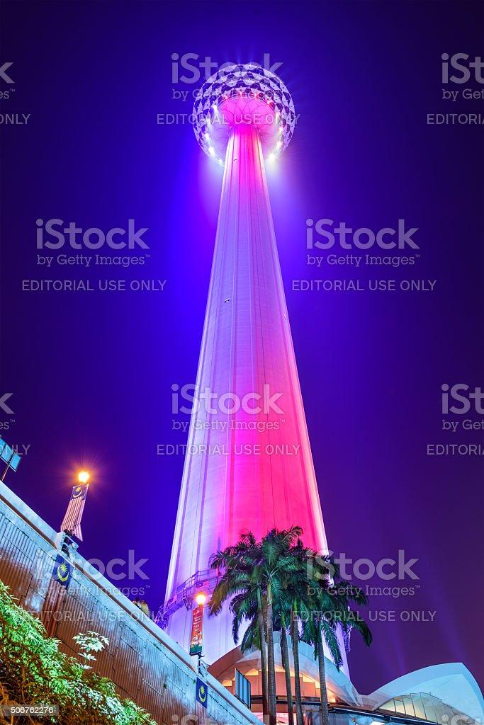 Kuala Lumpur Menara Tower stock photo