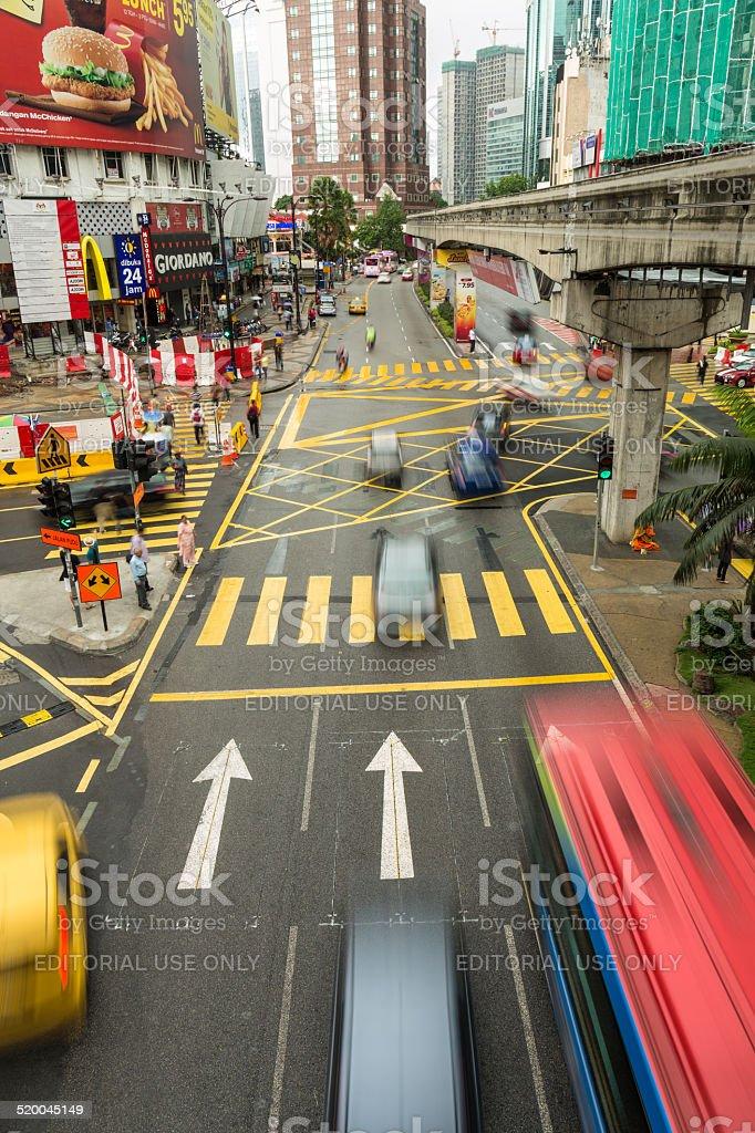 Kuala Lumpur rush stock photo