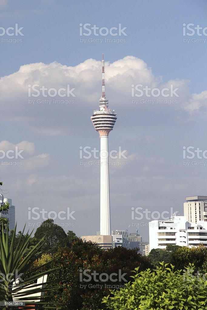 Kuala Lumpur Tower stock photo