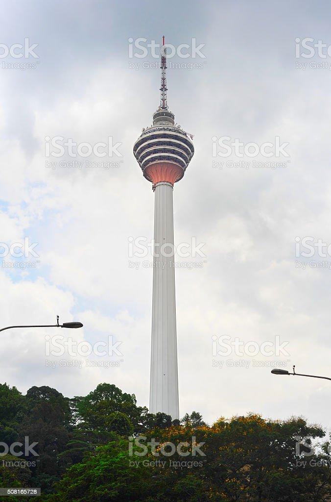 Kuala Lumpur TV Tower stock photo