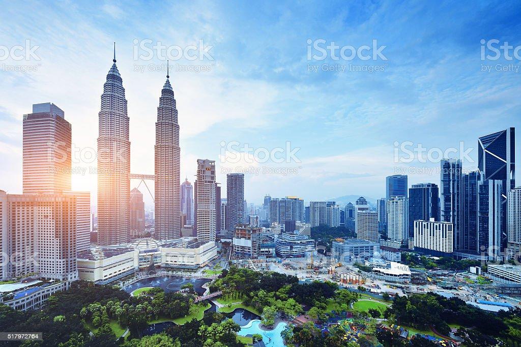 Kuala Lumpur Urban Scene, Malaysia stock photo