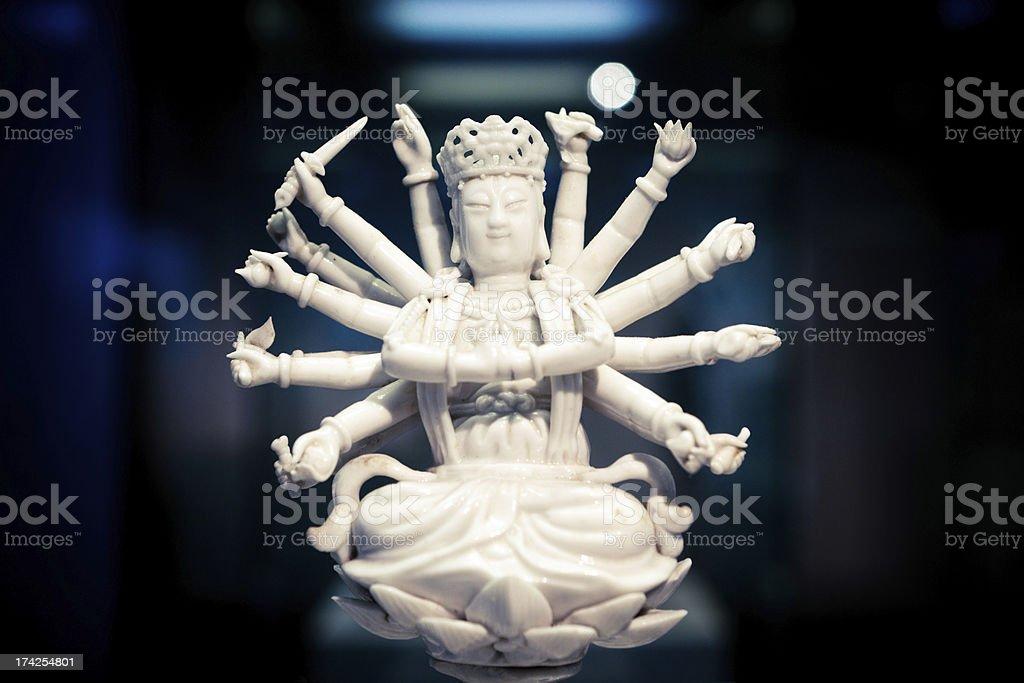 Kuan yin royalty-free stock photo