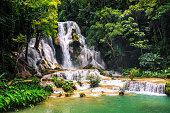Kuang Si waterfall in Laos, Luang Prabang