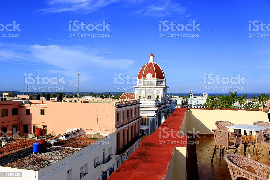 Kuba Stadt stock photo