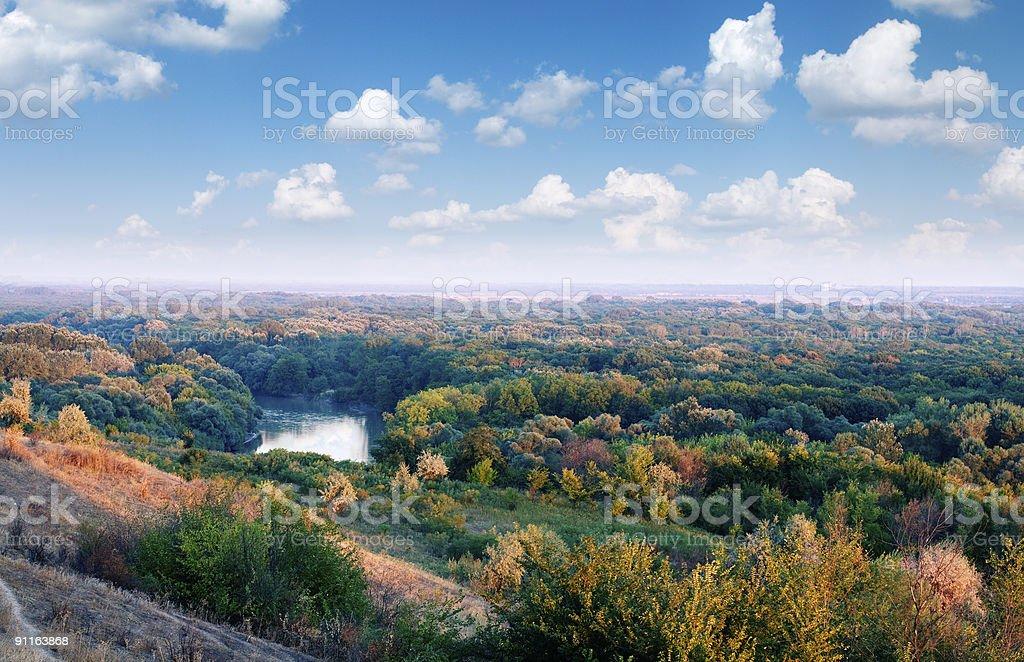 kuban landscape royalty-free stock photo