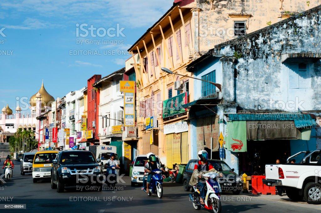 Kuching - Malaysia stock photo