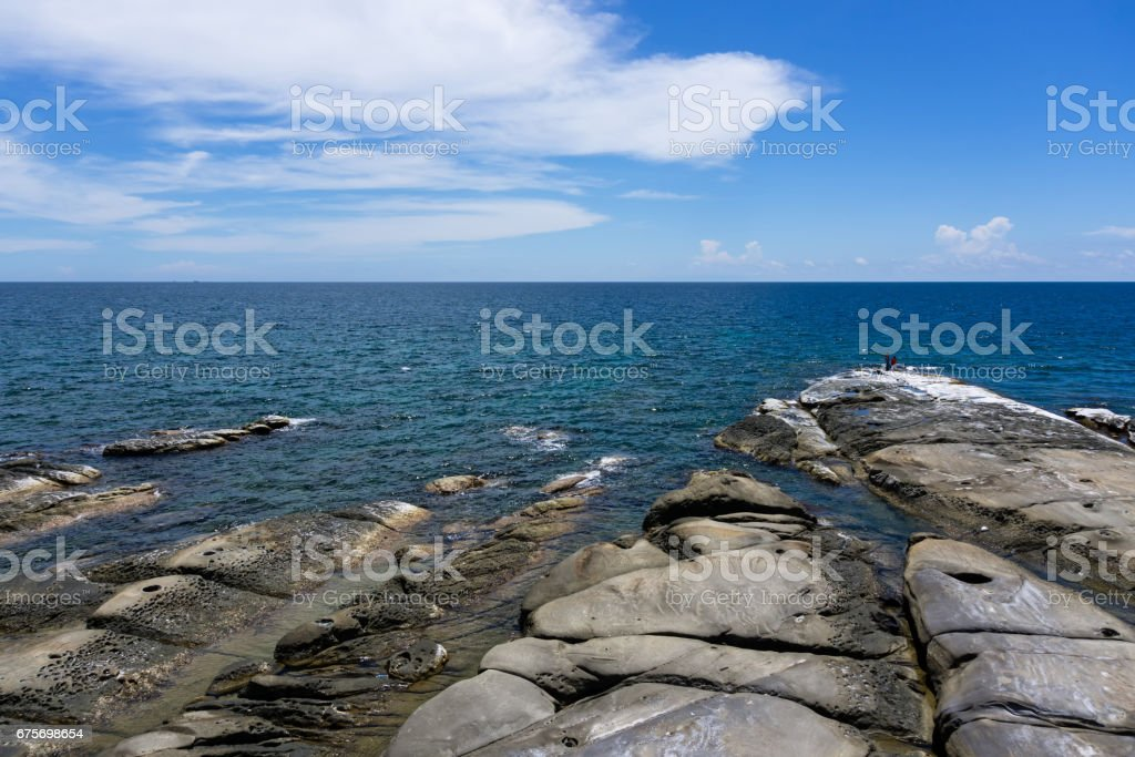 Kudat Tip of Borneo stock photo