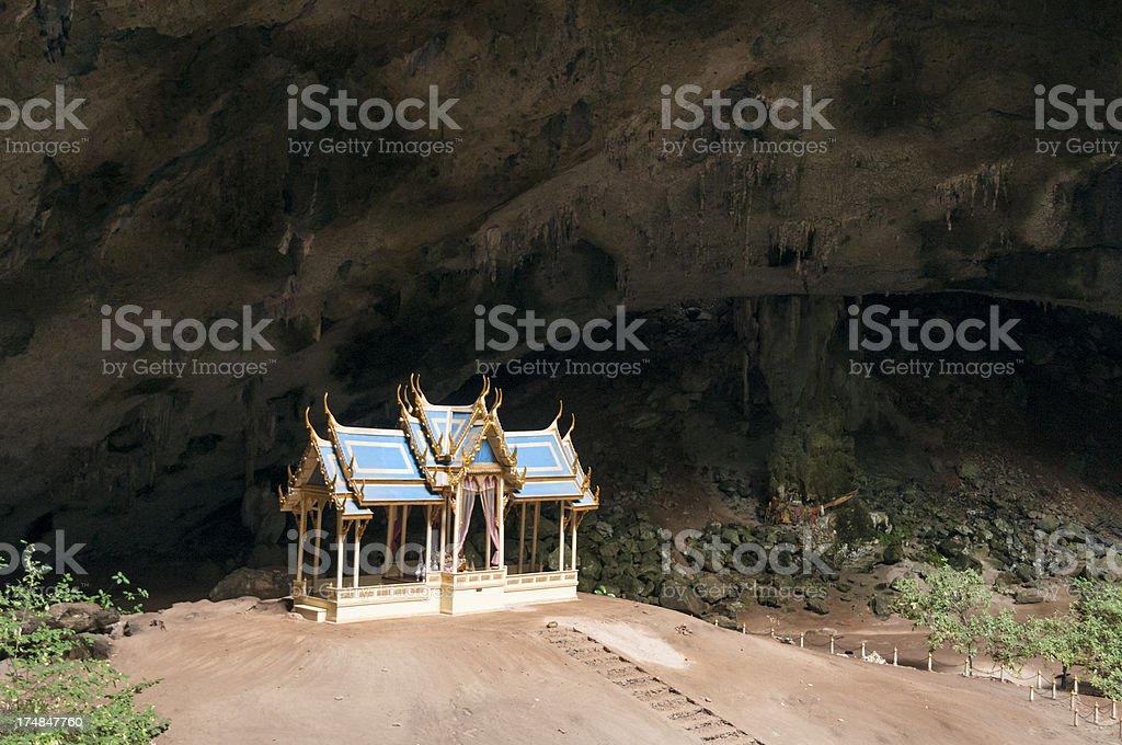 Kuha Karuhas Pavillon In Phraya Nakhon Cave, Thailand royalty-free stock photo