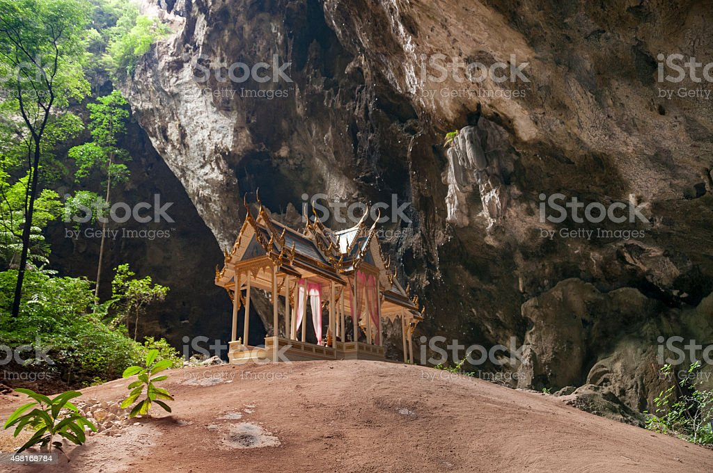 Kuha Karuhas Pavillon In Phraya Nakhon Cave, Thailand stock photo