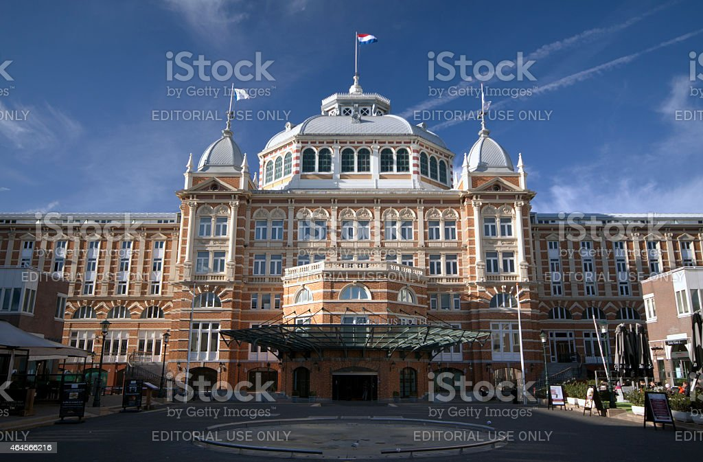Kuhrhaus in Scheveningen stock photo