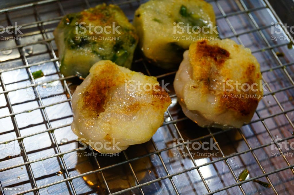 KuicheaiKuicheai pastry snack made of flour and vegetables stock photo