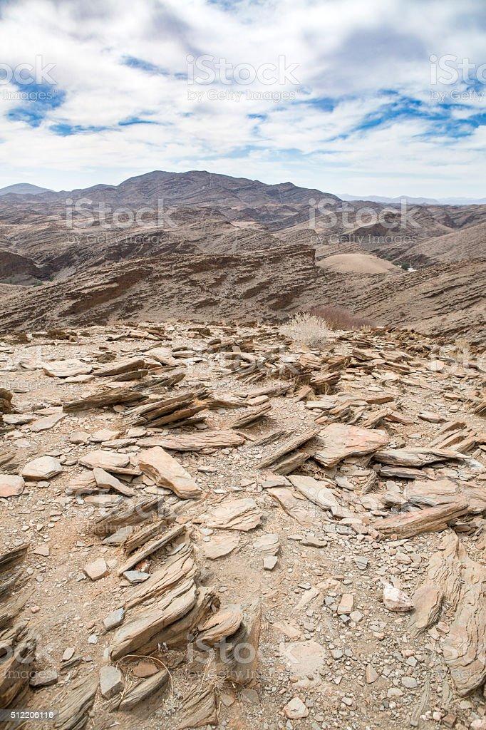 Kuiesib Canyon landscape stock photo